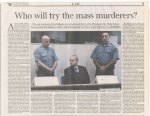 On the trial of Slobodan Milosevic